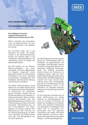 RACO Wegsensorik EPS02 / EPS 06