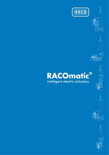 RACOmatic® intelligent electric actuators