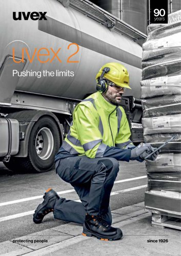 uvex 2 Pushing the limits