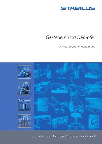 Gasfedern und Dämpfer für industrielle Anwendungen