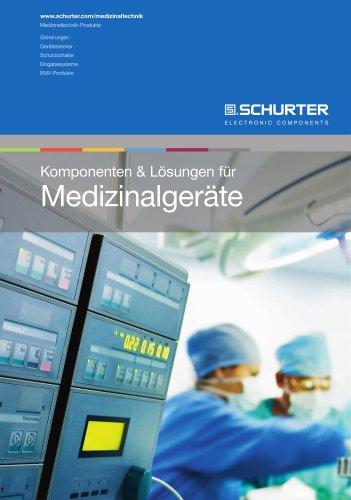 Komponenten & Lösungen für Medizinalgeräte