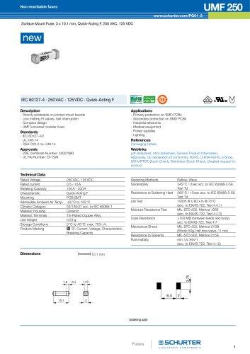 New product: UMF 250