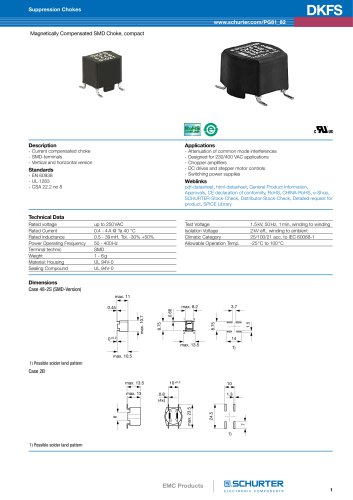New products: EMC Products/DKFS