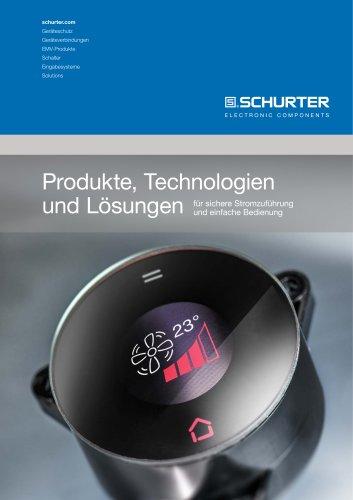 Produkte, Technologien und Lösungen
