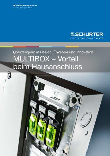 SCHURTER Multibox: Vorteil beim Hausanschluss