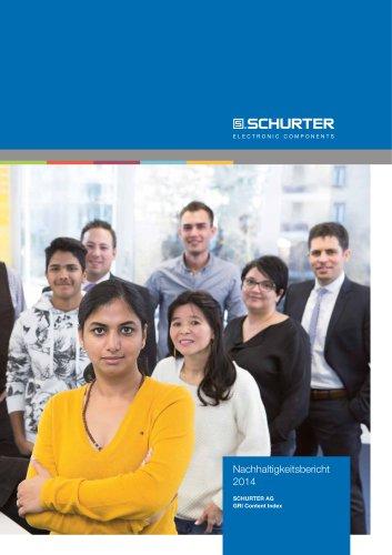 SCHURTER Nachhaltigkeitsbericht