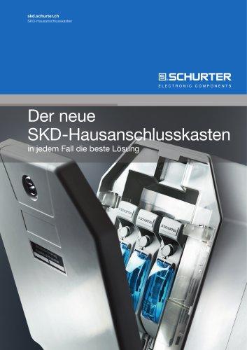 SCHURTER: Der neue SKD-Hausanschlusskasten