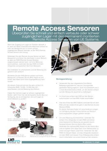 Remote Access Sensoren