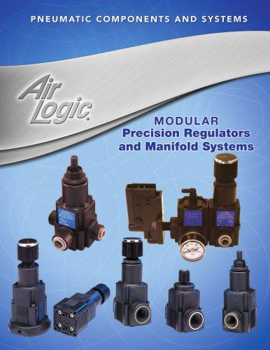 Modular precision regulators and manifold systems