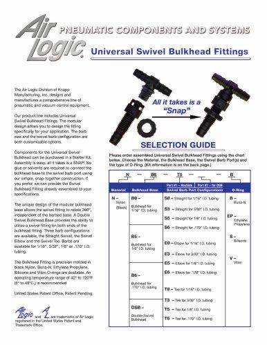 Universal Swivel Bulkhead Fitting