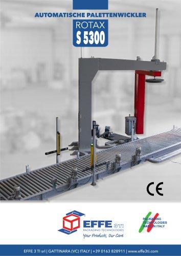AUTOMATISCHE PALETTENWICKLER ROTAX S5300