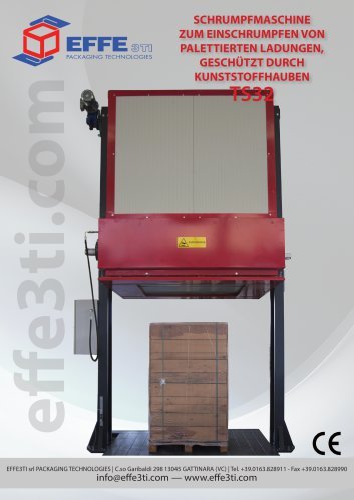 Thermo-shrinking machine TS32