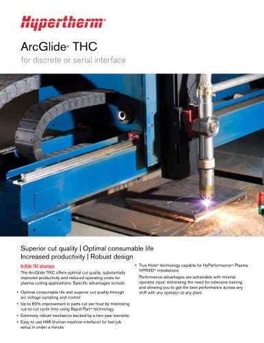 ArcGlide THC for discrete or serial interface