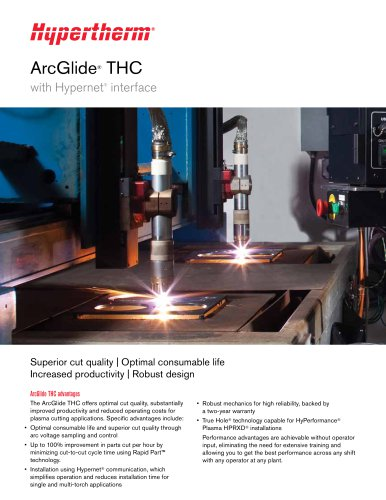 ArcGlide THC with Hypernet Interface