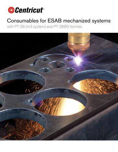 Centricut consumables for Esab PT-36
