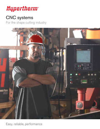 CNC systems for the shape cutting industry