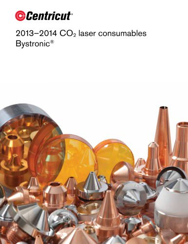 CO2 laser consumables for Bystronic