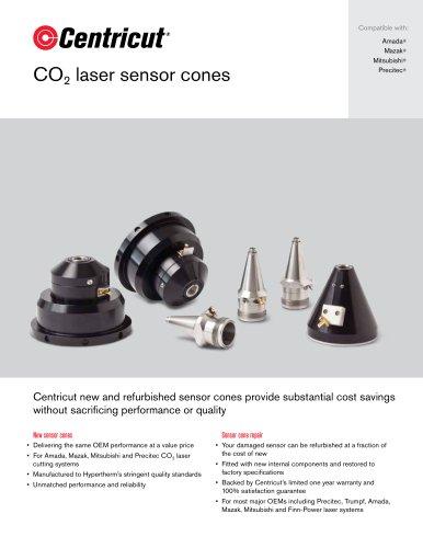 CO2 laser sensor cones