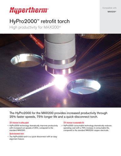 HyPro2000™ retrofit torch