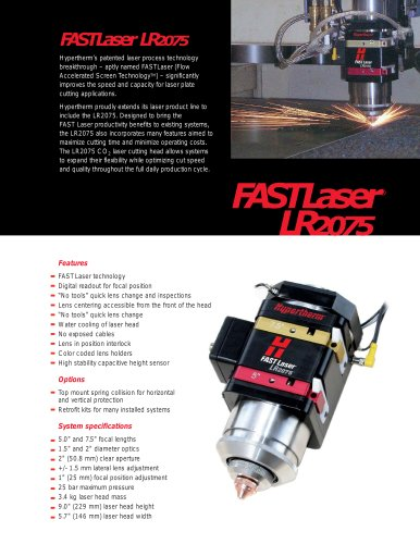 LH2075 Product Brochure