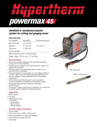 Powermax45 System Brochure