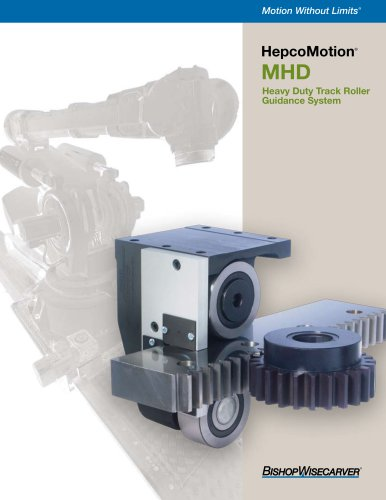 HepcoMotion® MHD  Heavy Duty Track Roller Guidance System