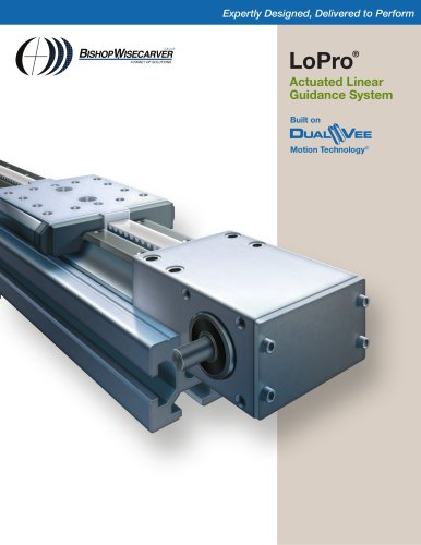 LoPro® Actuated Linear Guidance System