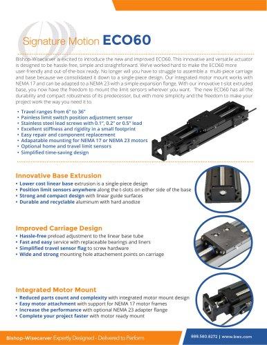 Signature Motion ECO60