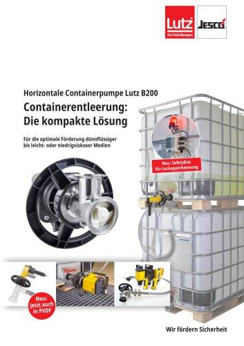 Horizontale Containerpumpe B200