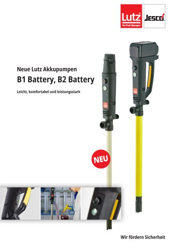 Lutz Akkupumpen B1 Battery / B2 Battery