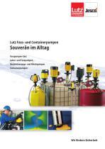 Lutz Fasspumpen und Containerpumpen