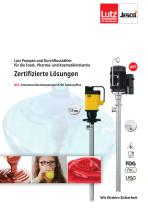 Pumpen in PURE-Ausführung und SanitaryPlus