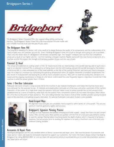 Bridgeport Series I Machine