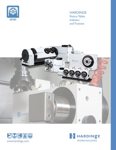 GD16C2 and GD3J2 Gear-Driven Rotary Tables