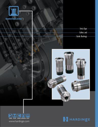 Swiss-type Collets, Guide Bushings and Bar Feed Collets