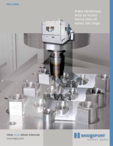 XR 700 HMC horizontal machining centers