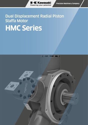 Dual Displacement Radial Piston Staffa Motor HMC Series