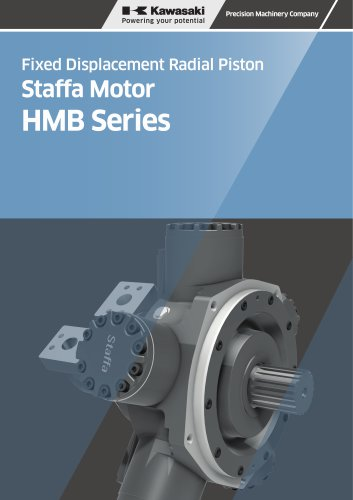 Fixed Displacement Radial Piston Staffa Motor HMB Series