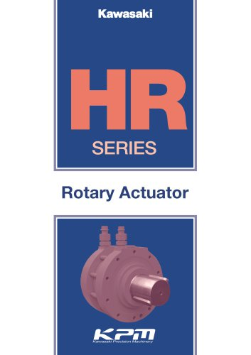 Rotary Actuator HR Series