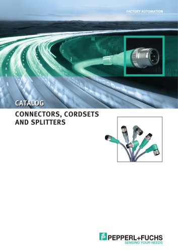 CONNECTORS, CORDSETS AND SPLITTERS