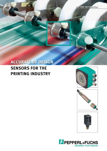 Sensors for the Printing Industry