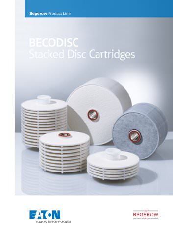 BECODISC Stacked Disc Cartridges
