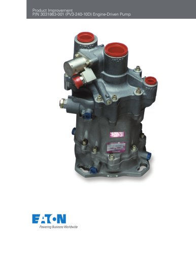 Engine-Driven Pump PV3-240-10D