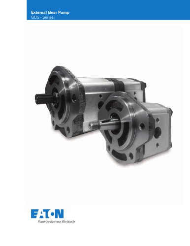 External Gear Pump – GD5 Series