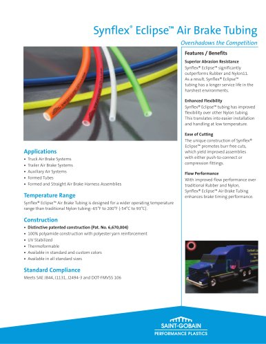 Synflex® Eclipse™ Air Brake Tubing