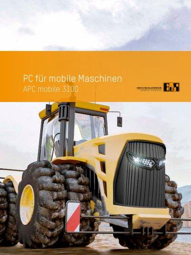 PC für mobile Maschinen APC mobile 3100