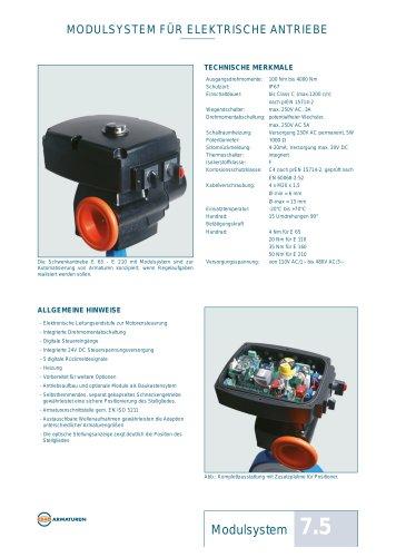 Datenblatt Modulsystem EBRO
