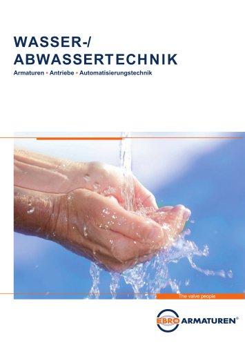 Wasser- und Abwassertechnik