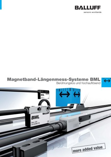 Magnetband-Längenmess-System BML