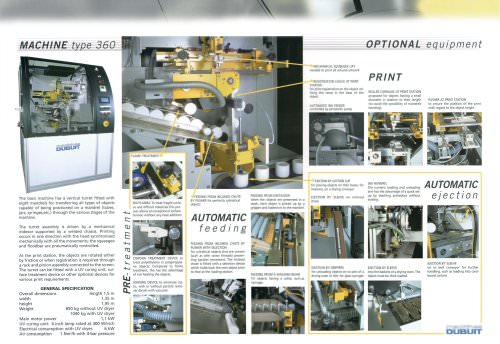 Automatic machine type 360